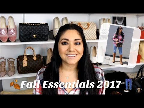 Fall Essentials 2017 | Handbags, Clothing, Shoes, Mod Shots