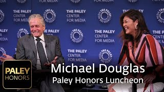 Paley Honors Luncheon Celebrating Michael Douglas - Taking a Long Look at the Past