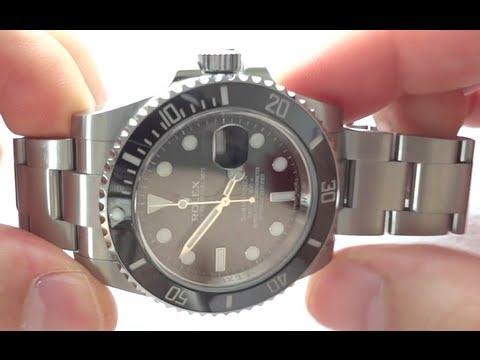 Rolex Submariner 116610LN Review 904L Stainless Steel Black with Ceramic  Bezel