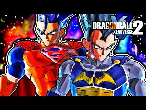 Dragon Ball Xenoverse 2 PC: Batgeta Vs Super Gok-El DLC Pack Mod Gameplay (ALL TRANSFORMATIONS)
