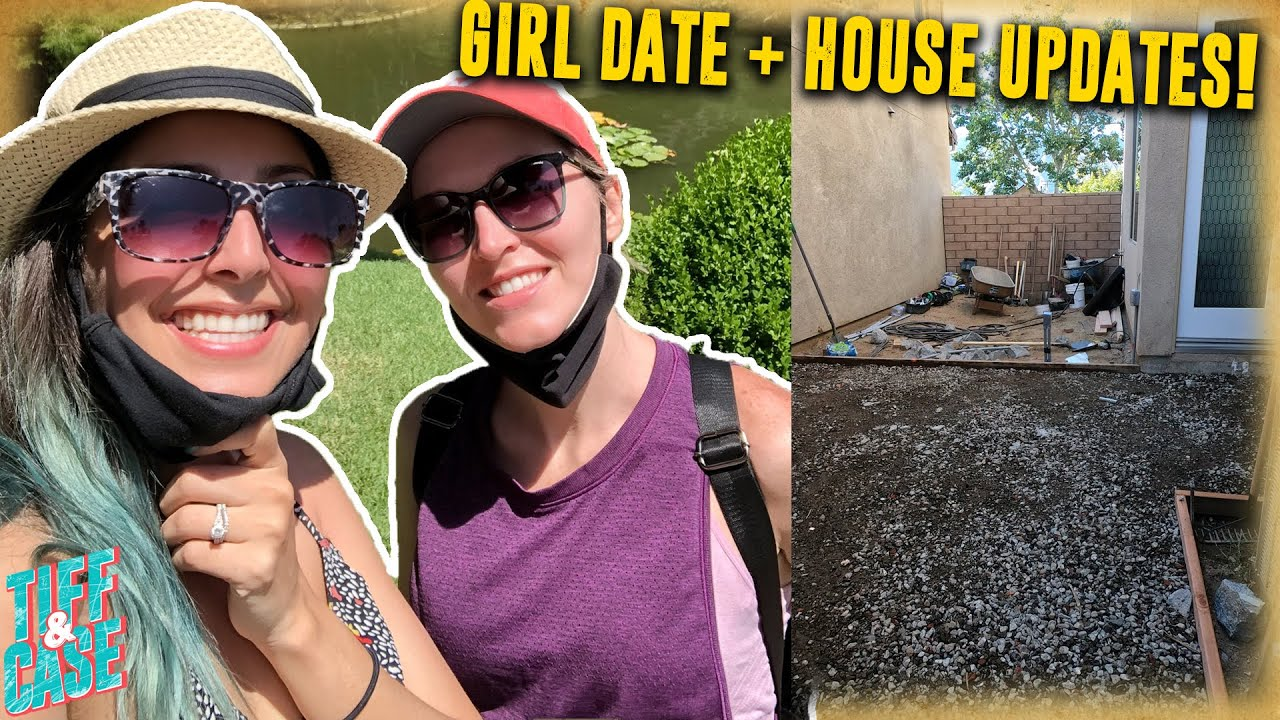Starting on our backyard + girl date!