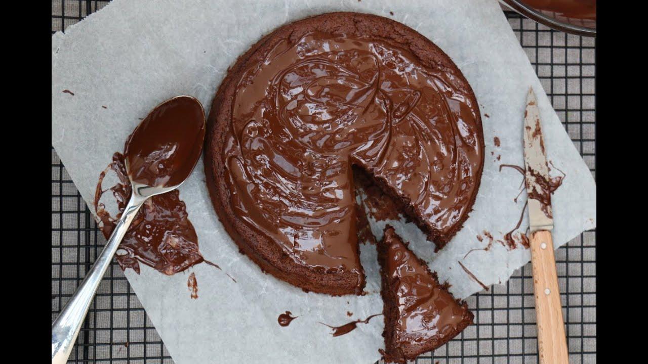 Gateau Au Chocolat Sans Beurre Et Sans Sucre Une Tuerie Youtube
