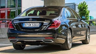 Mercedes S 400 d and new diesel engine OM 656