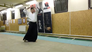 hassogaeshi tsuki- jo [TUTORIAL] basic Aikido weapon technique