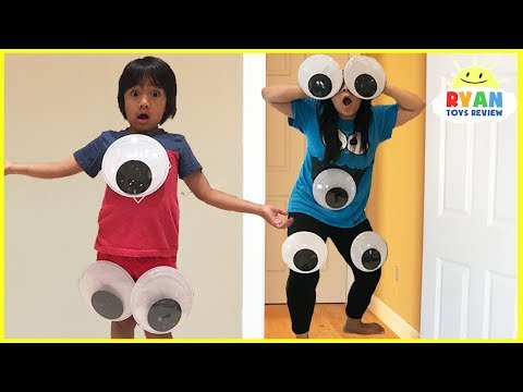Thumbnail: Kid Pranks Mommy and Daddy Giant Magical Googly Eyes with M&M McDonald's Happy Meal Toys