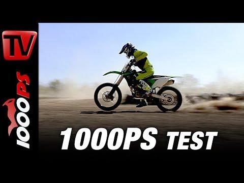 1000PS Test - Kawasaki KX250F und Kawasaki KX450F 2018