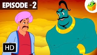 The Merchant and the Genie | Episode 2 | Arabian Nights in Hindi