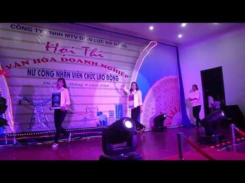 Cuộc thi văn hóa doanh nghiệp - Phần chào hỏi P9 Công ty Điện lực Đà Nẵng