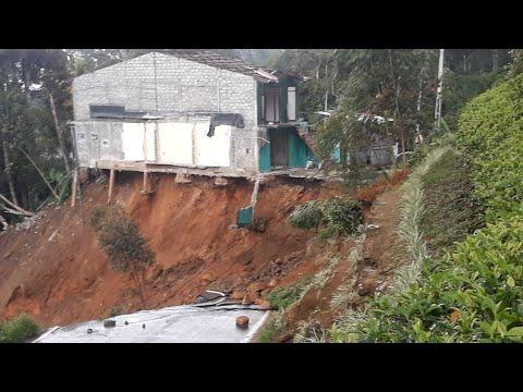 NORWOOD - HATTON Road Landslide @Dheekshan