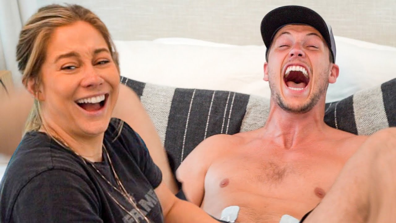 NFL husband tries labor pain simulation · pregnancy pt 2 | the east family