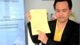 Video Saham Faizal Yusup 1 - Membuk...