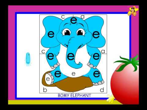 Letter recognition worksheet for kindergarten small e - YouTube
