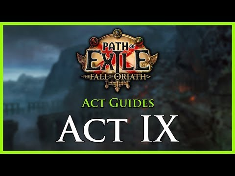 Path of Exile: Act & Leveling Guides - Act IX