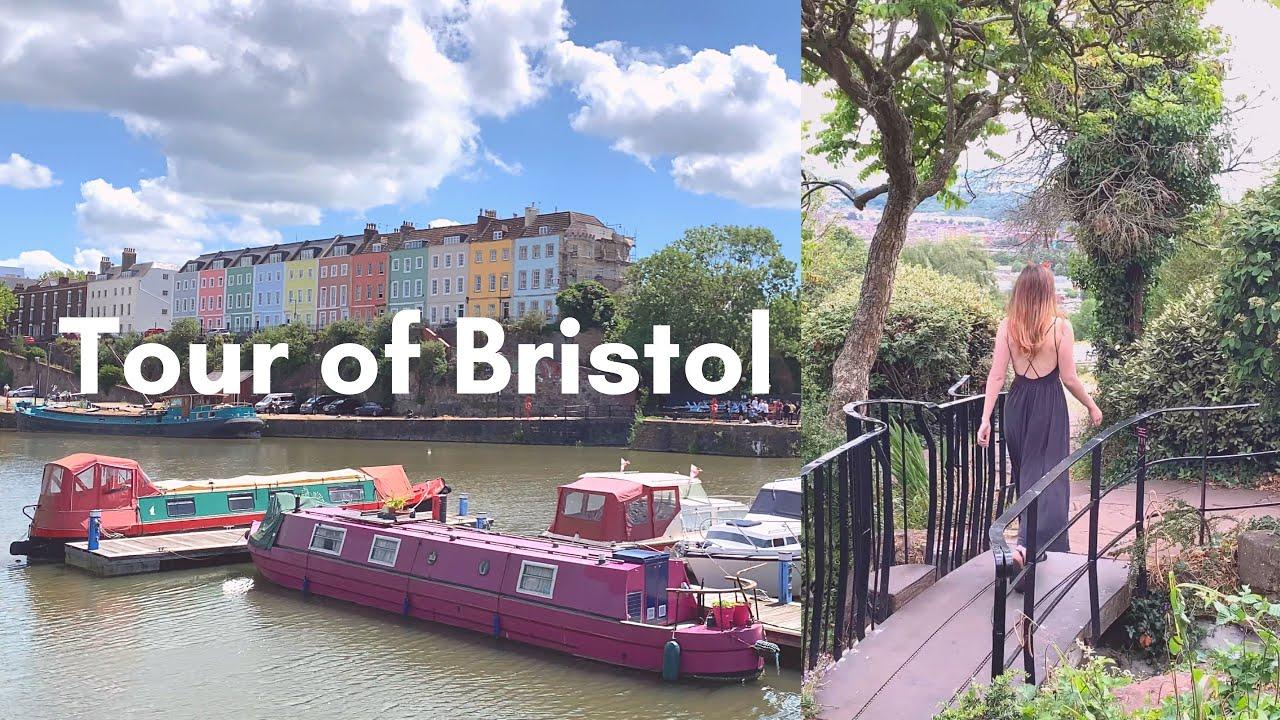 A tour around Bristol, Banksy & bubble tea | VLOG
