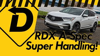 "2020 Acura RDX A-Spec Puts The ""Sport"" into SUV!"