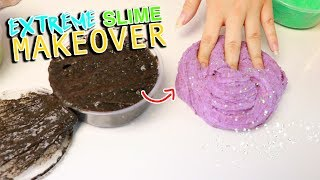 EXTREME SLIME MAKEOVER I made the best slime ever Slimeatory 499 2