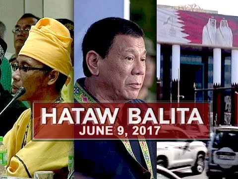 UNTV: Hataw Balita (June 9, 2017)