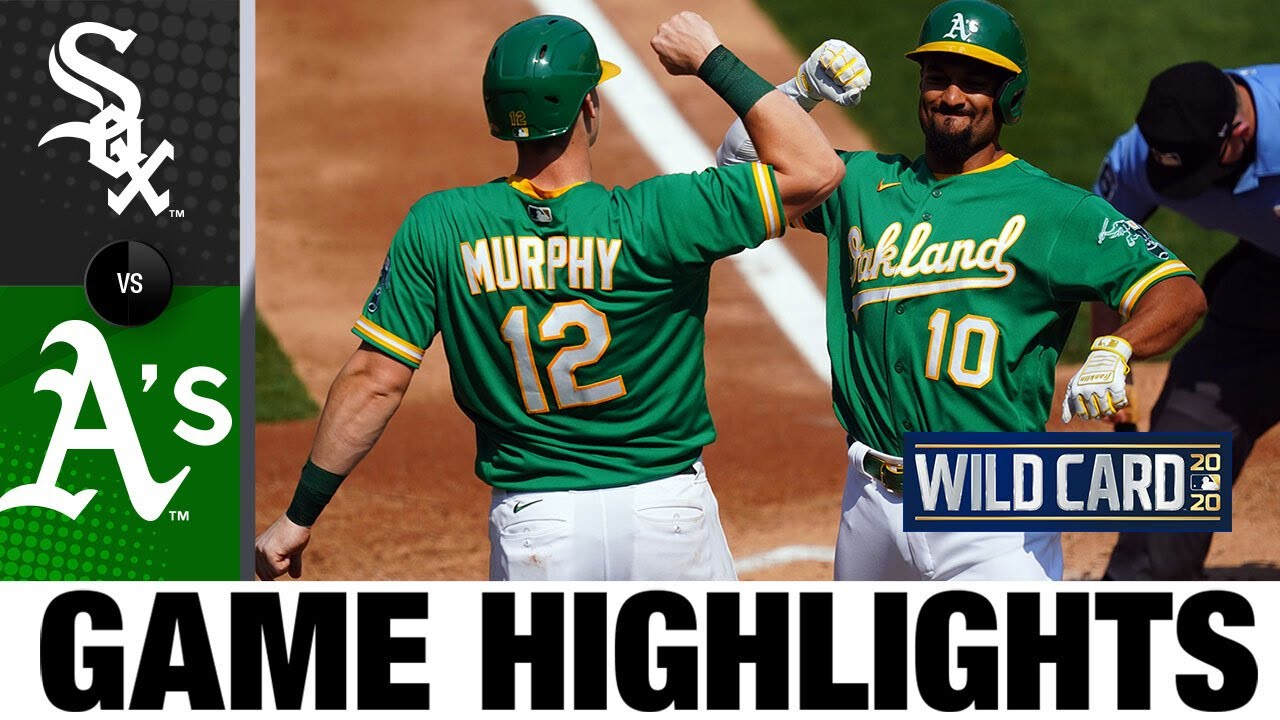 Chris Bassitt shines as A's avoid elimination | White Sox-A's Game 2 Highlights 9/30/20