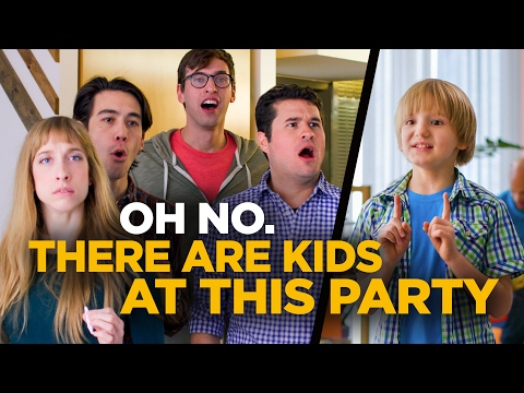 Oh No. There Are Kids At This Party.