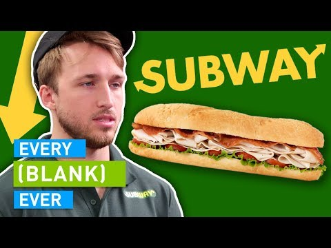EVERY SUBWAY EVER