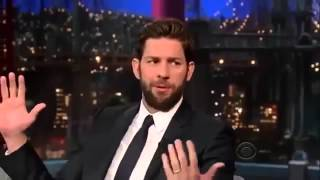 John Krasinski on David Letterman 6 May, 2013 Full Interviewmedium