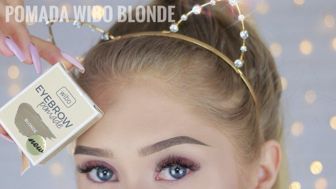 Pomada Wibo Blonde Pierwsze Wrazenie Youtube