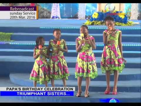 Triumphant sisters  #birthday song to Apostle Johnson Suleman