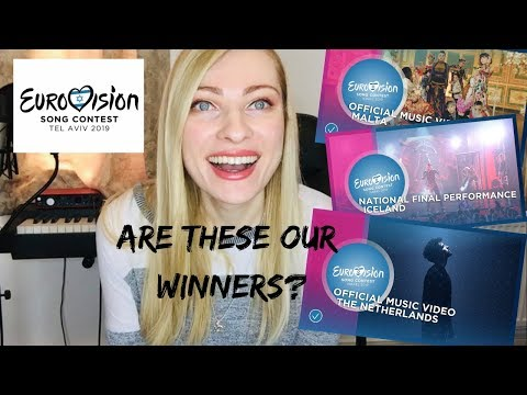 EUROVISION 2019 - Potential Winners ian&39;s Reaction & Review Part 2