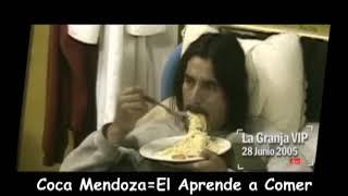 Coca Mendoza Comiendo Tallarines