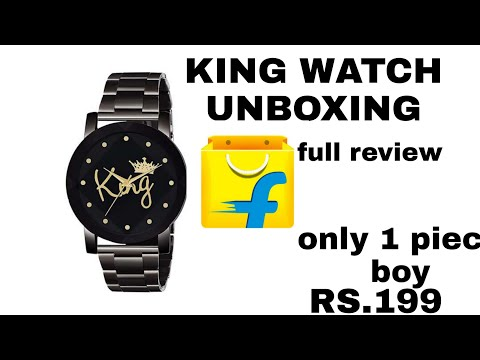 Boys King Watch Unboxing Video For Flipkart Full Review