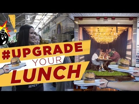 'Upgrade Your Lunch' -- A New Video Series That Instantly Upgrades the Meals of Complete Strangers