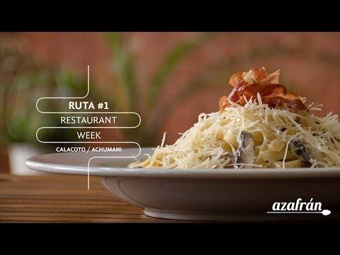 Ruta #1 - Restaurante Week Bolivia