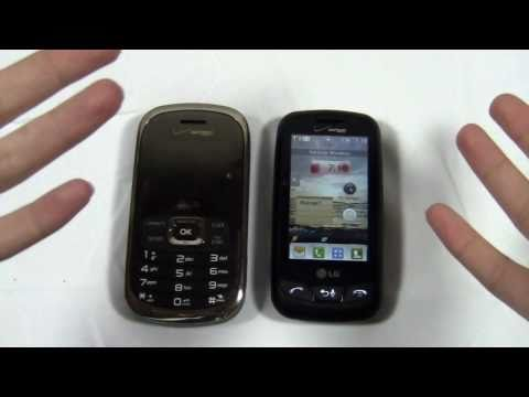 LG Octane vs. LG Cosmos Touch Dogfight Part 1