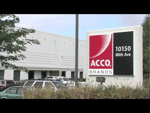 2010 Economic Impact Award: ACCO Brands Corporation