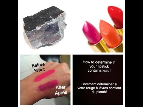 Lead content in lipstick fdating