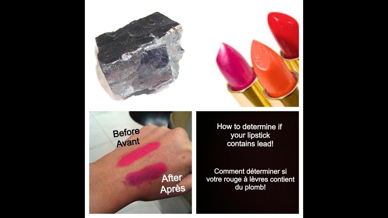 How to Know if Your Cosmetics Contain Lead