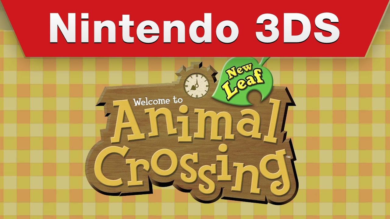 Nintendo 3ds Animal Crossing New Leaf Trailer Youtube