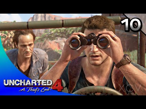 UNCHARTED 4: A Thief's End Walkthrough Part 10 · Chapter 10: The Twelve Towers (100% Collectibles)