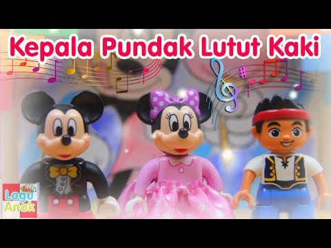 Kepala Pundak Lutut Kaki | Lego Mainan | Lagu Anak Indonesia
