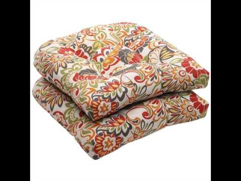 outdoor cushions pillows outdoor chair pads cushions youtube