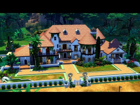 The Sims 4 || Speed Build || Villa Zul