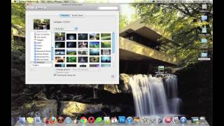 Mac: How to Change Wallpaper (Snow Leopard)
