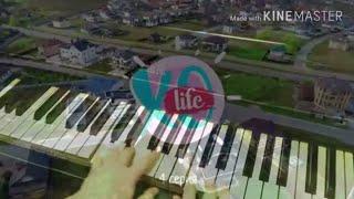 XO LiFE ❤  На пианино (фортепиано)  Популярные мелодии #7   Мари Сенн ❤ 