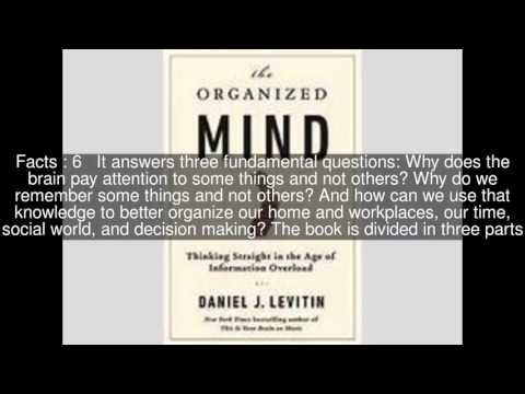 The Organized Mind Top  #11 Facts