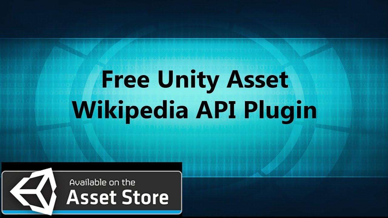 Wikipedia Plugin | Unity Asset | Free