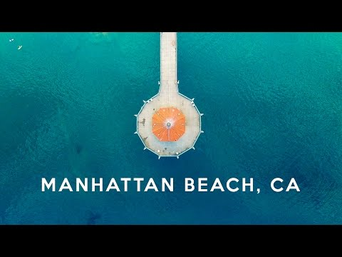 Manhattan Beach, California (from above) - DJI Phantom 3 - 4K