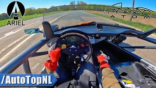 ARIEL ATOM 2.0 SUPERCHARGED POV Test DRIVE & SLIDE by AutoTopNL