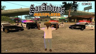 TROLLING COPS IN GTA SAN ANDREAS MULTIPLAYER!