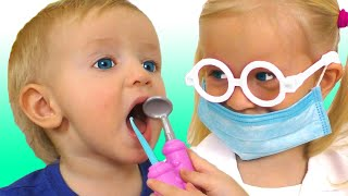 Dentist Song + More Songs for children by Katya and Dima