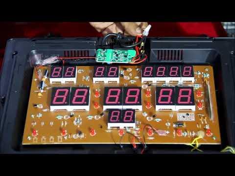 How To Repair Ajanta Digital Clock Power Supply Pcb In 9 Minutes Youtube